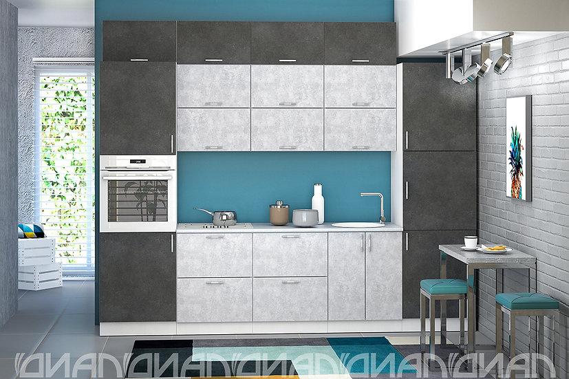 "Кухня ""Эко"" Бетон 3.0 м."