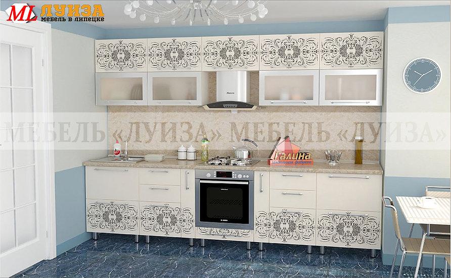 Кухонный гарнитур Ф-43 (3,0 м)