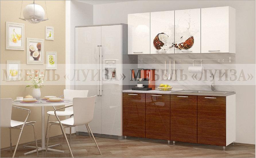 Кухонный гарнитур Ф-12 (1,6 м)
