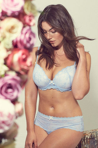 Underwear and flowers Charlotte Quita Jones
