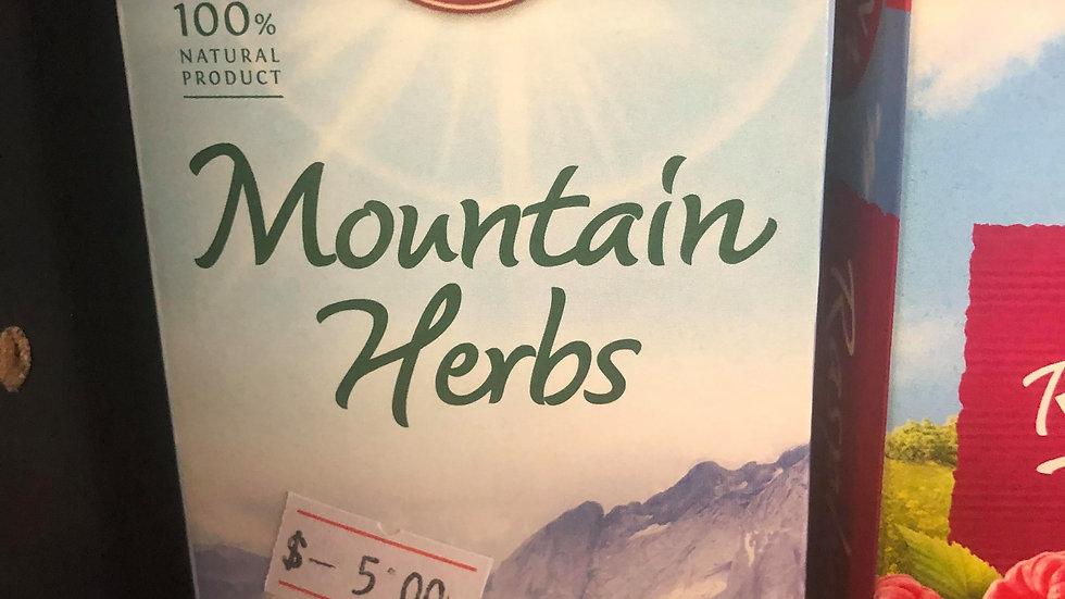 Teekanne Mountain Herbs Tea