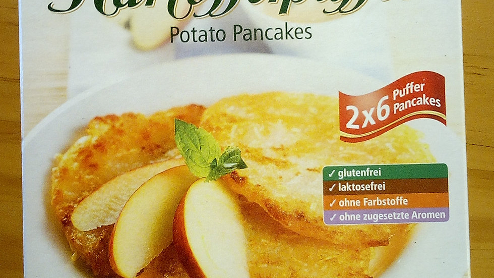 Kartoffelpuffer(Potato Pancakes)