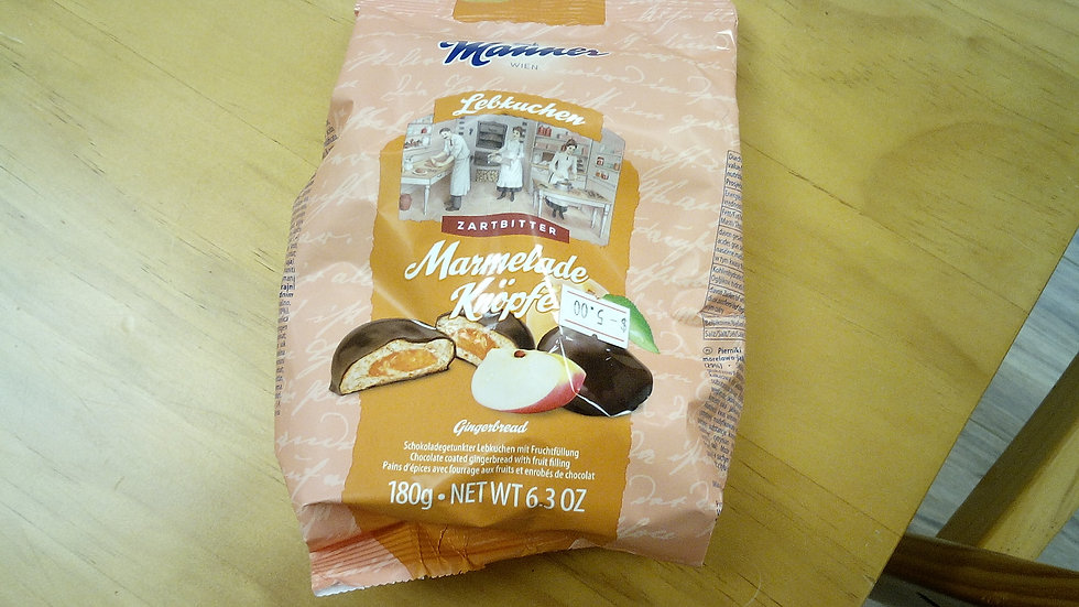 Manner Apricot filled Gingerbread