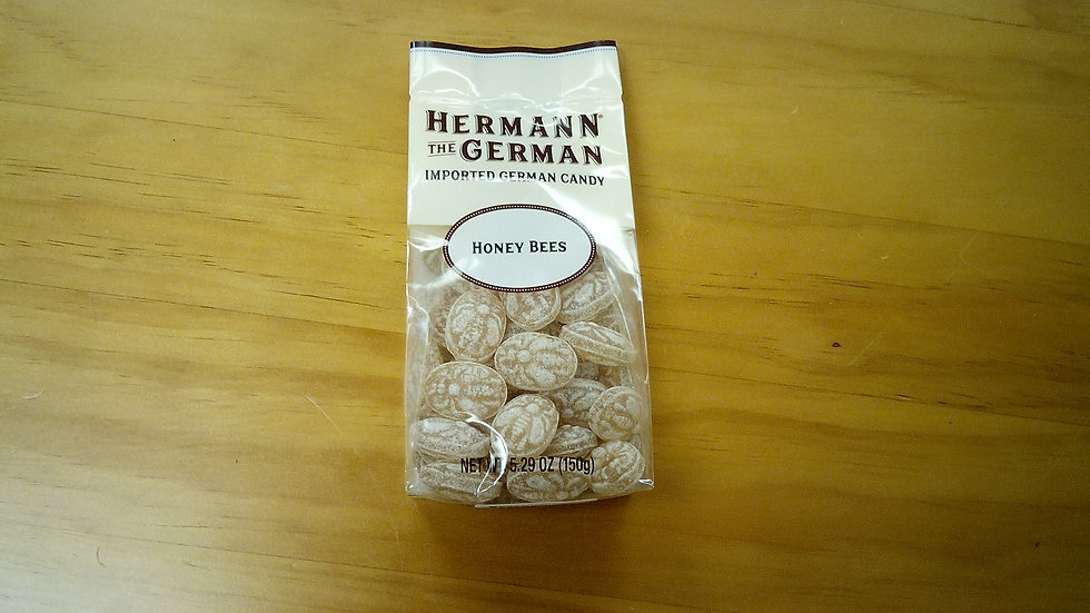 Herman the German traditional Candy Honey Bees