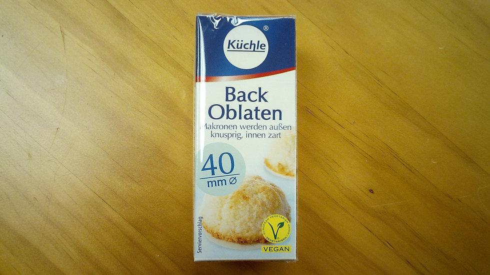 Kuechle Back Oblaten