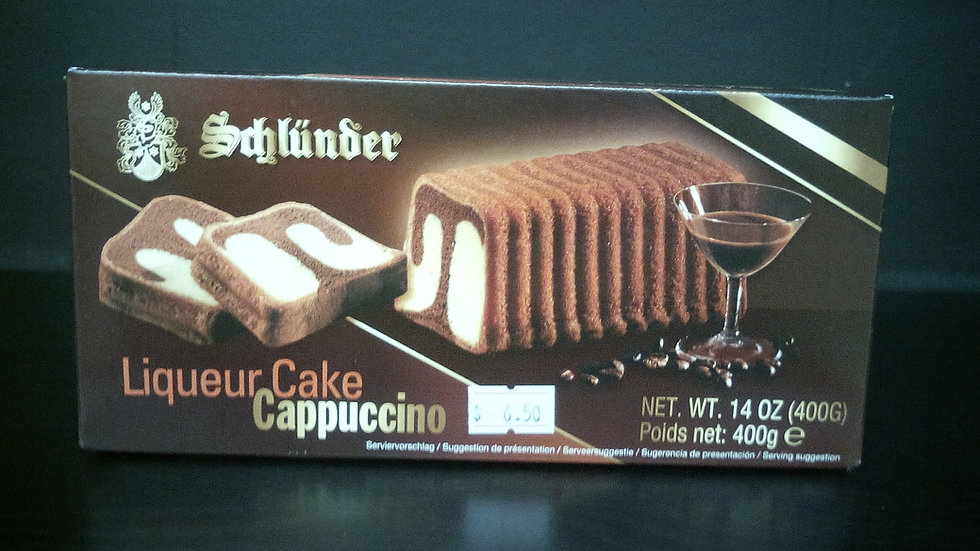 Schluender Liquor Cake Cappuccino