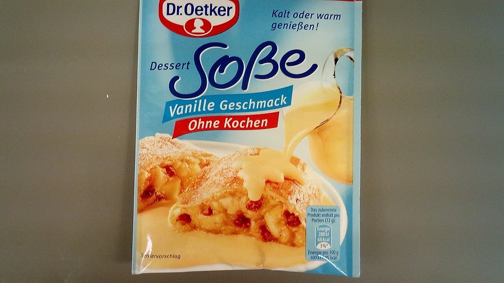 Dr.Oetker Dessert Vanille Sauce