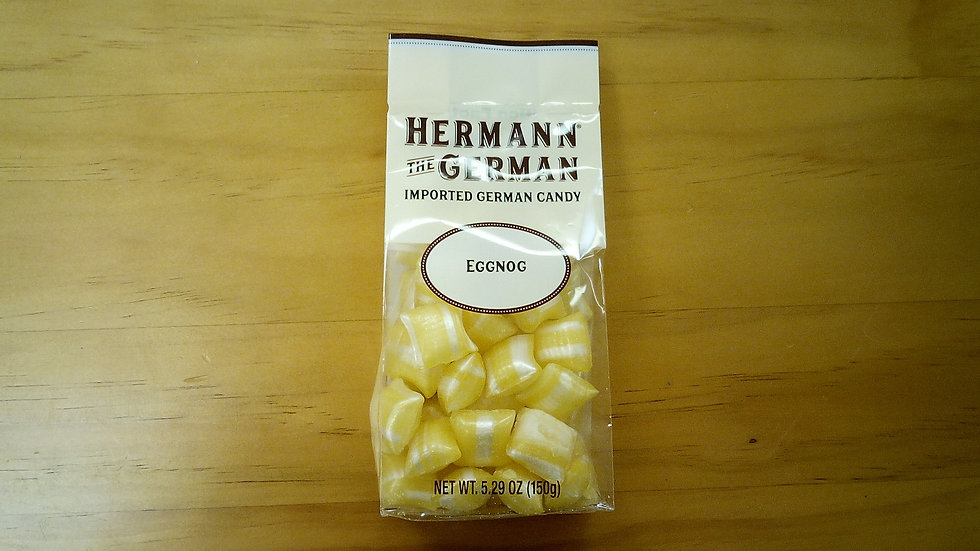 Herman the German traditional Candy Eggnog