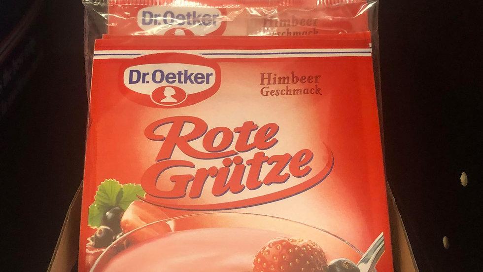 Dr.Oetker Rote Gruetze Himbeer