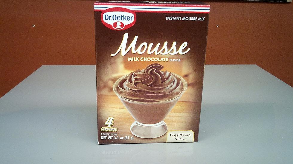 Dr. Oetker Mousse Milk Chocolate