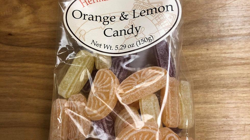 Herman the German traditional Candy Orange&Lemon