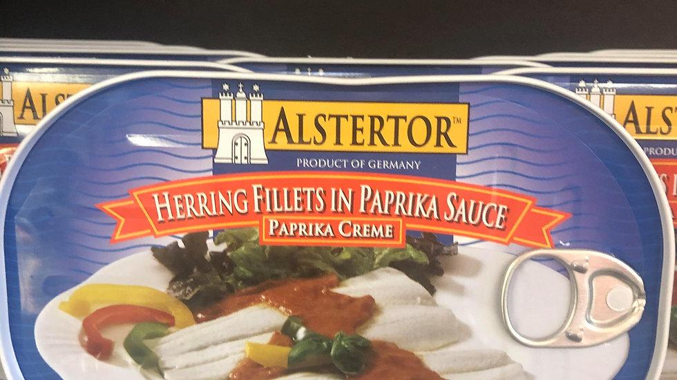 Alstertor Herring Fillets in Paprika Sauce