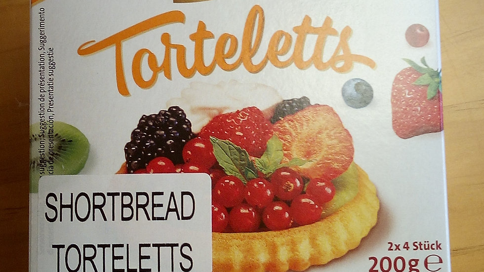CoppenrathTorteletts Shortbread