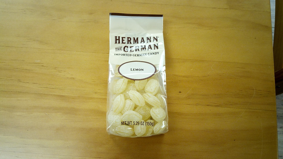 Herman the German traditional Candy Lemon