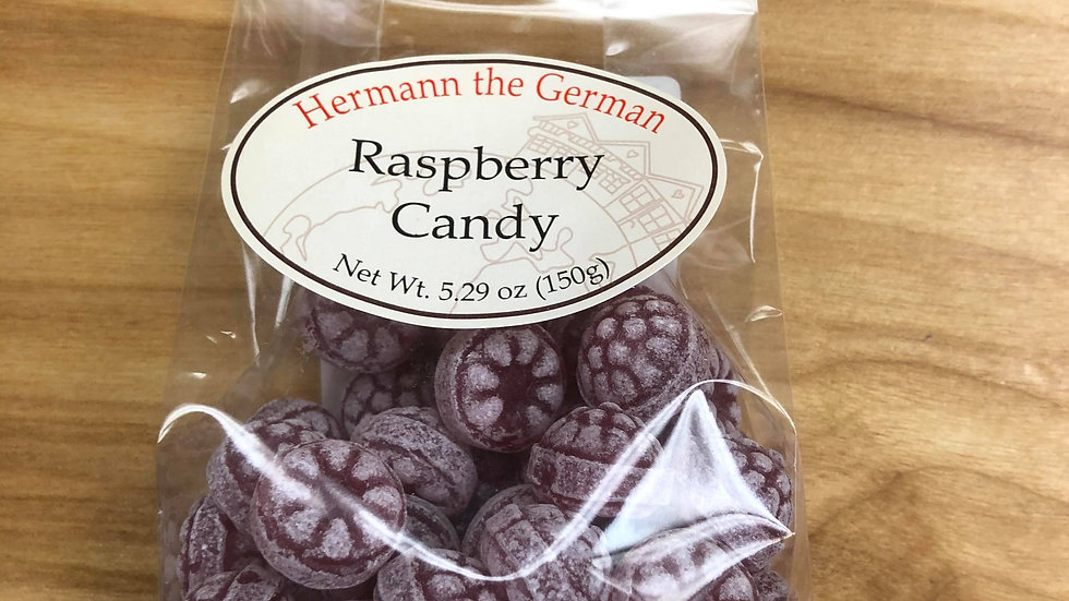 Herman the German traditional Candy Raspberry