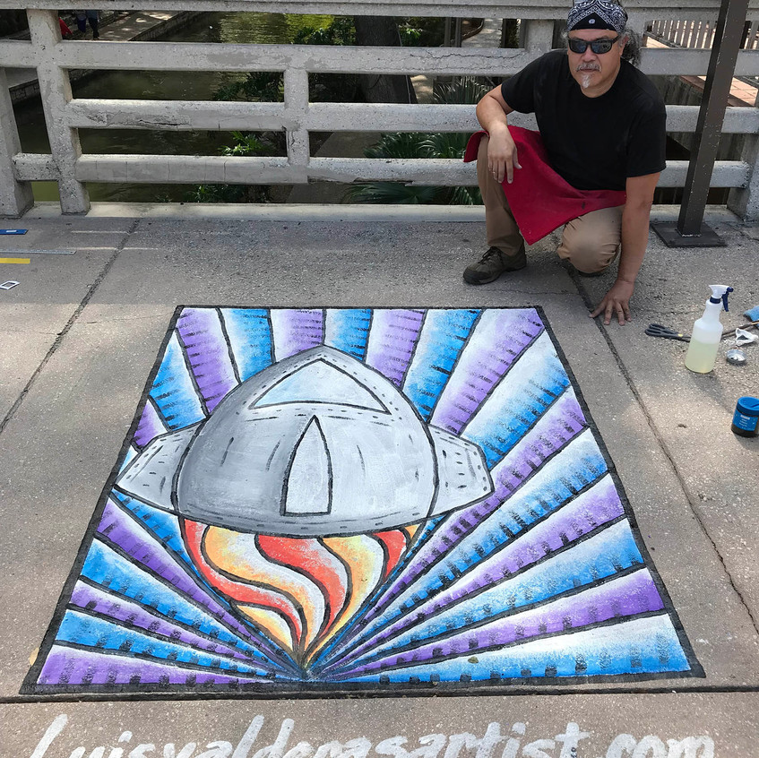 LV at Chalk it