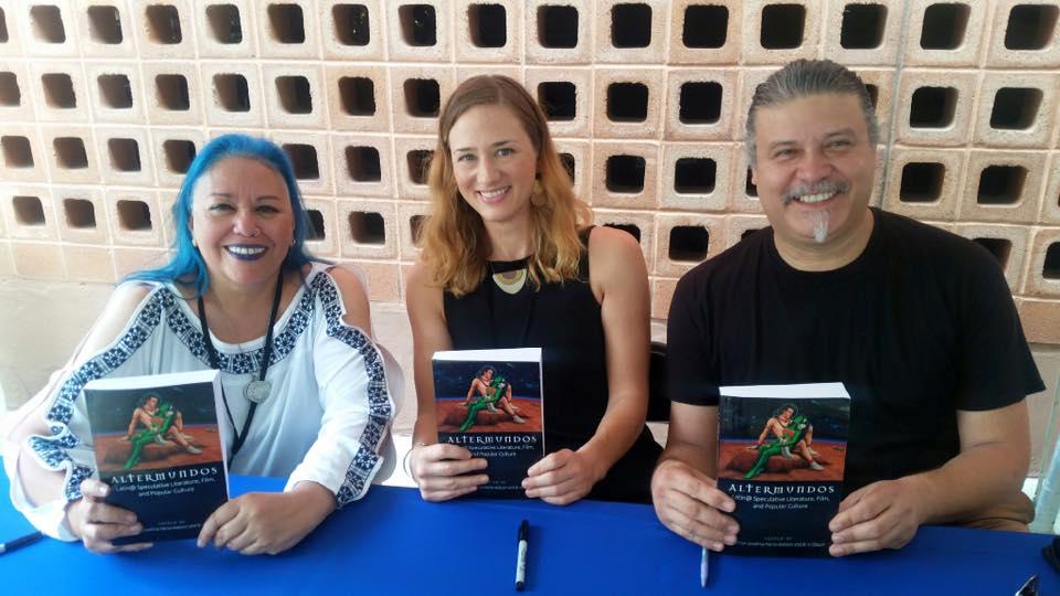 2017 SATX Book Fair signing the books