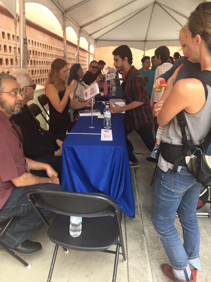 2017 SATX Book Fair crowd