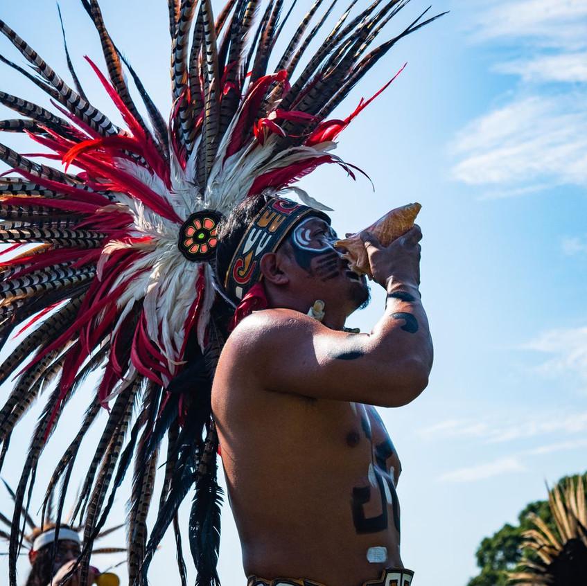 La Danza Azteca grupo from Philidelphia.