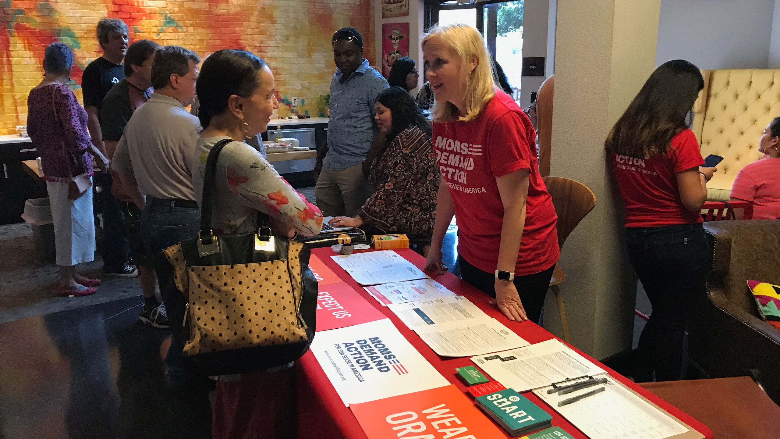 Moms Demand Action Info table