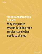 Decriminalisation of Rape Report, CWJ EV