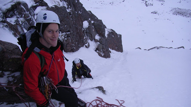 The Couloir I, Coire An t-Sneachda