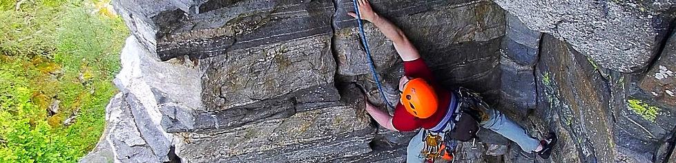 Rock Climbing Huntleys Cave
