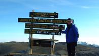 Kilimanjaro, Uhuru Peak 5895m