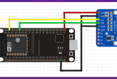 ESP32 with External ADC ADS1115 Measuring and Logging Small Signals