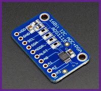 ADS1115 ADC 16-bit with PGA use in Flowcode