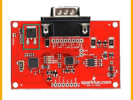 OBD2 Reader with Flowcode and Sparkfun OBD2 Board (ELM327)