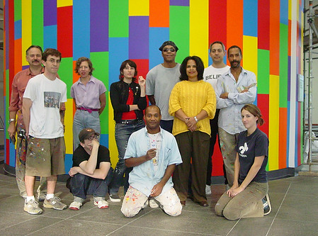 Sol Lewitt Collaborative Mural (DC Convention Center)