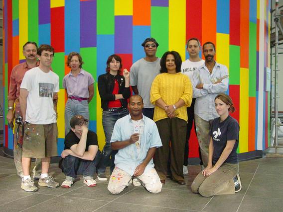 Sol Lewitt Collaborative Mural (DC Convention Center)
