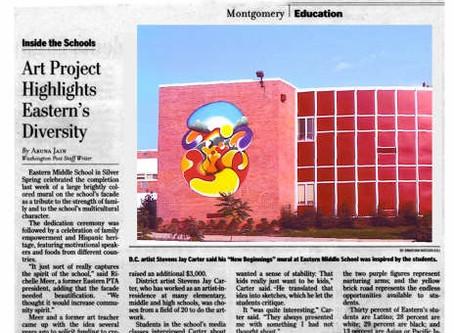 Art Project Highlights Eastern's Diversity – The Washington Post