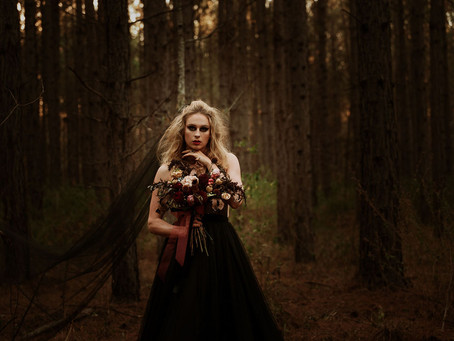 THE GIRL IN THE WOODS...