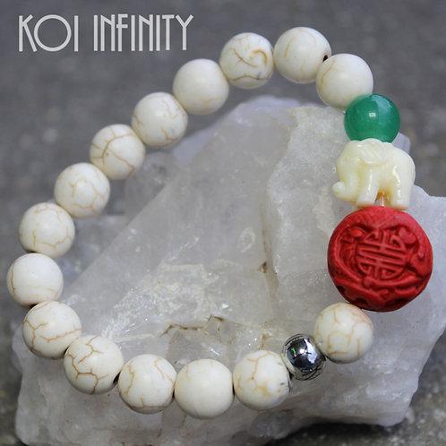 Fertility Howlite Bracelet