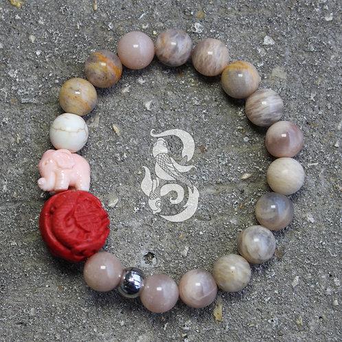 Fertility Moonstone Bracelet