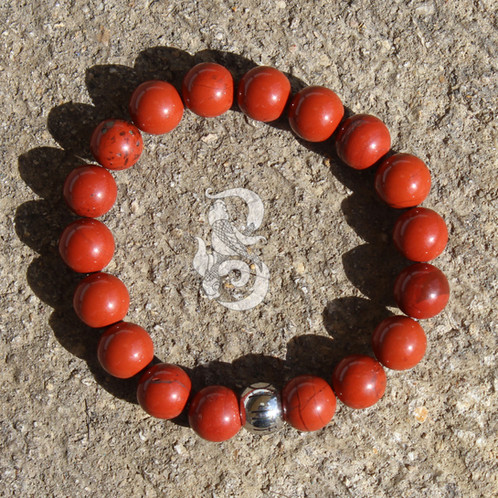 jasper etsy il calming market negative intention elephant bracelet yoga strength mnwf