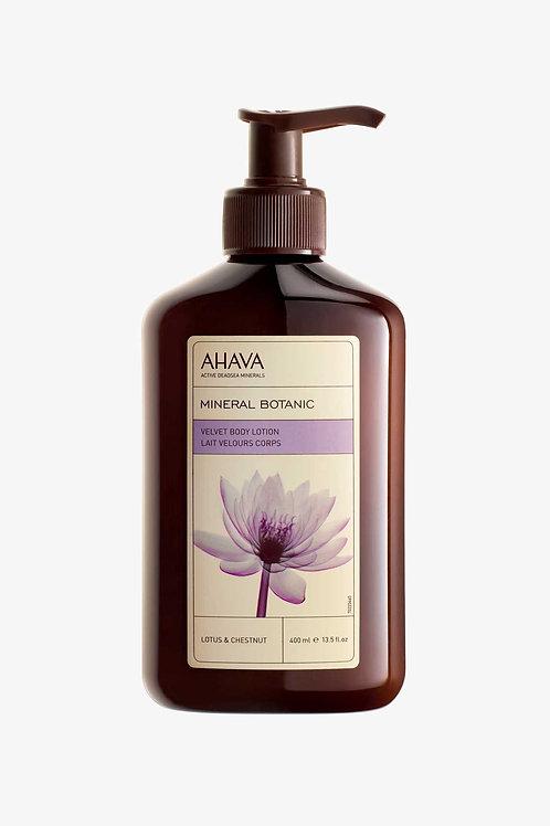 Ahava Velvet Body Lotion Lotus & Chestnut 500ml