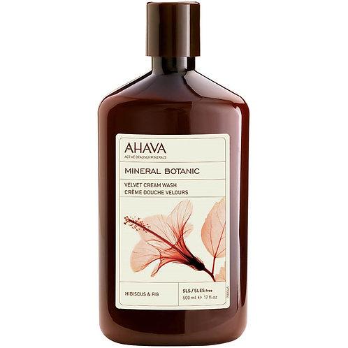 Ahava Velvet Cream Wash Hibiscus & Fig 500ml
