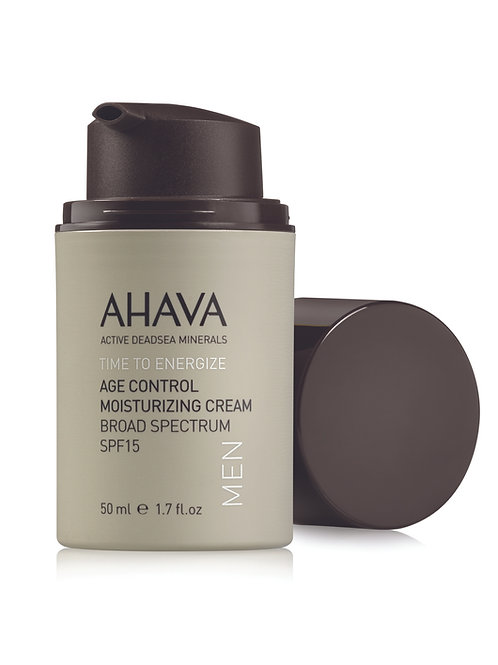 Ahava MEN Age Control Moisturizing Cream Broad Spectrum SPF15 50ml