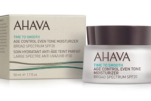 Ahava Age Control Even Tone Moisturizer Broad Spectrum SPF20 50ml
