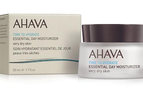 Ahava Essential Day Moisturizer 50ml - very dry