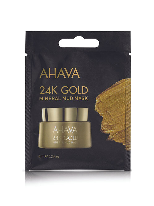 Ahava 24K Gold Mineral Mud Mask 6ml