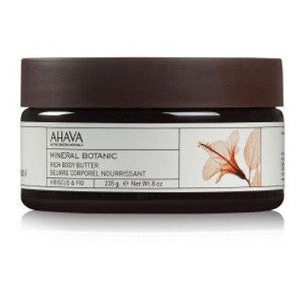 Ahava Velvet Rich Body Butter Hibiscus & Fig 235g