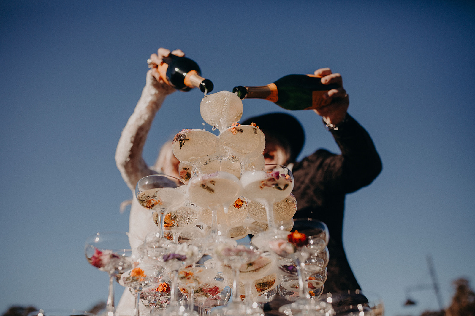 Champagne Tower - NOFOMOCO - Weddings