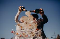 Champagne Tower - NOFOMOCO - Weddings