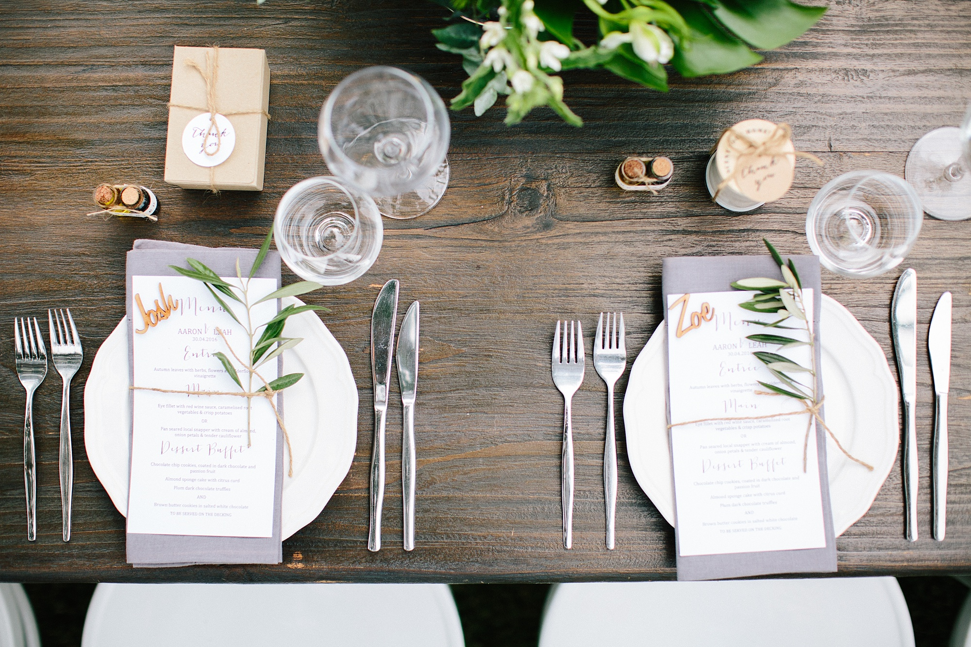 Table Setting - NOFOMOCO - Byron Bay