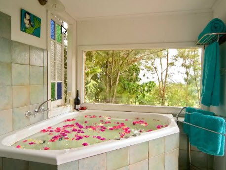 Luxurious Flower Bath - Forest Retreat C