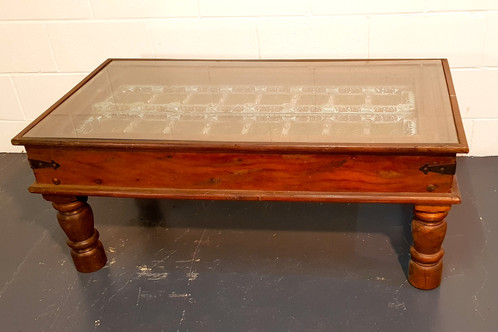 Old Indian Door Coffee Table The Gypsy Road Trading Co Upcycled
